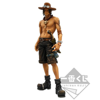 BANPRESTO ICHIBAN KUJI SUPER MASTER STARS PIECE ONE PIECE ACE 01 SMSP THE BRUSH