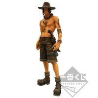 BANPRESTO ICHIBAN KUJI SUPER MASTER STARS PIECE ONE PIECE ACE 02 SMSP THE SEPIA