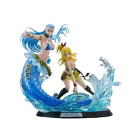 FAIRY TAIL Lucy Heartfilia & Aquarius BY TSUME