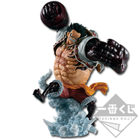 BANPRESTO ICHIBAN KUJI ONE PIECE LUFFY GEAR 4 LOT B