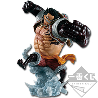 BANPRESTO ICHIBAN KUJI ONE PIECE LUFFY GEAR 4 LOT A