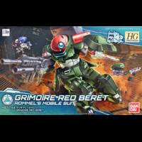 BANDAI GUN81111 HGBD 1/144 GRIMOIRE RED BERET