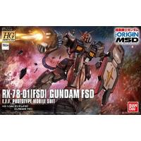 BANDAI GUN82232 GUNPLA HG 1/144 GUNDAM RX-78 FSD