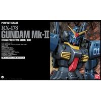 BANDAI GUNLA PG 1/60 GUNDAM RX-178 MK II TITANS BLACK