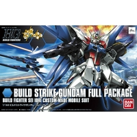 BANDAI GUN83292 GUNPLA HGBF 1/144 BUILD STRIKE GUNDAM FLIGHT FULL PACKAGE