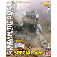 BANDAI GUNPLA MG 1/100 RX-78-2-02 GUNDAM THE ORIGIN SPECIAL EDITION