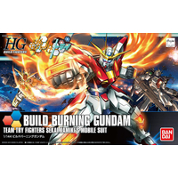 BANDAI GUN83605 GUNPLA HGBF 1/144 BUILD BURNING GUNDAM