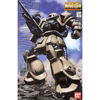 BANDAI GUN80653 GUNPLA MG 1/100 MS06 F2 ZAKU II EARTH FED. ARMY