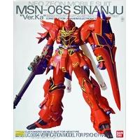 BANDAI GUN21680 GUNPLA MG 1/100 SINANJU MSN-06S VER KA