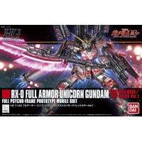 BANDAI GUNPLA HGUC 1/144 RX-0 FULL ARMOR UNICORN GUNDAM