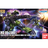 BANDAI GUNPLA HG 1/144 ZAKU 1 GUNDAM THE ORIGIN 009