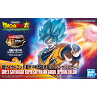 BANDAI FIGURE RISE SON GOKU SS GOD SPECIAL COL