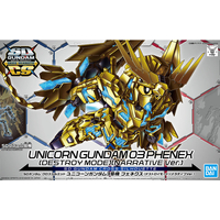 BANDAI GUN62935 GUNPLA SD CROSS SILHOUETTE PHENEX DESTR NARRATIVE