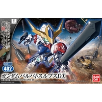 BANDAI GUNPLA BB 402 GUNDAM BARBATOS LUPUS DX