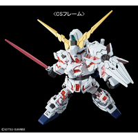 BANDAI GUN67609 GUNPLA SD CROSS SILHOUETTE GUNDAM UNICORN DESTR