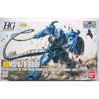 BANDAI GUN58641 GUNPLA HGUC 1/144 GOUF CLEAR COLOR VER