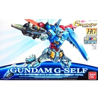 BANDAI GUN83402 GUNPLA HG 1/144 GUNDAM G-SELF COLOR CLEAR VER