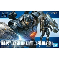 BANDAI PAC82943 HG 1/550 - PACIFIC RIM - GIPSY AVENGER (FINAL BATTLE SPECIFICATION)