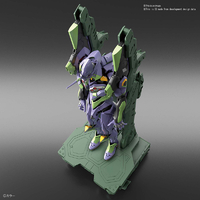 BANDAI EVA69848 RG 1/144 NGE EVA UNIT 01 & TRANSPORT SET