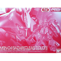 BANDAI GUN68954 GUNPLA RG 1/144 SAZABI CLEAR COLOR