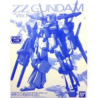 BANDAI GUN68544 GUNPLA MG 1/100 ZZ GUNDAM CLEAR VERSION KA