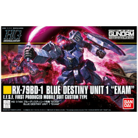 BANDAI GUNPLA HG 1/144 BLUE DESTINY UNIT1 EXAM GUNDAM