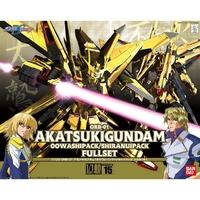 BANDAI GUN56816 GUNPLA NG 1/100 AKATSUKI GUNDAM OOWASHI/SHIRANUI FULLSET