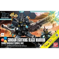 BANDAI HGBF 1/144 GUNDAM LIGHTNING BLACK WARRIOR
