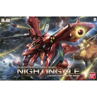 BANDAI GUNPLA RE 1/100 MSN-04II NIGHTINGALE GUNDAM