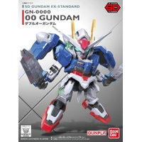BANDAI GUNPLA SD GUNDAM EX-STD 008 GN-0000
