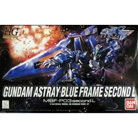 BANDAI GUNPLA HG 1/144 ASTRAY BLUE FRAME SECOND L GUNDAM