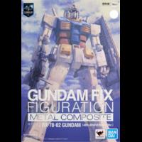BANDAI GFF GUNDAM RX-78-2 40TH ANN LIMITED