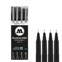 MOLOTOW BLACLINER ETUI SET 2 4PCS