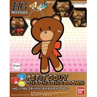 BANDAI BEARGGUY HGPG 1/144 PETIT GGUY CHA CHA CHA BROWN & CHOCOLATE