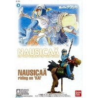 BANDAI NAUSICAA MODEL KIT 01 NAUSICAA RIDING ON KAI 1/20 GHIBLI
