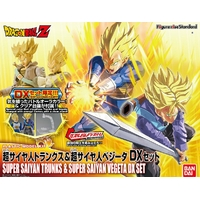 BANDAI DBZ FIGURE-RISE TRUNKS & VEGETA DX SET