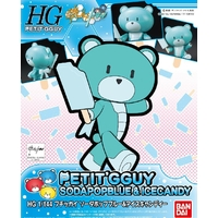 BANDAI BEARGGUY HG 1/144 PETITGGUY SODAPOPBLUE & ICECANDY