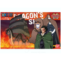 BANDAI MAQUETTE ONE PIECE DRAGONS SHIP