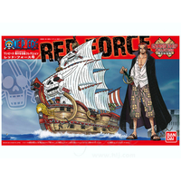 BANDAI MAQUETTE ONE PIECE MAQUETTE RED FORCE