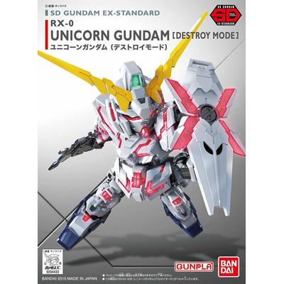 BANDAI GUNPLA SD GUNDAM EX-STD 005 RX-0 UNICORN