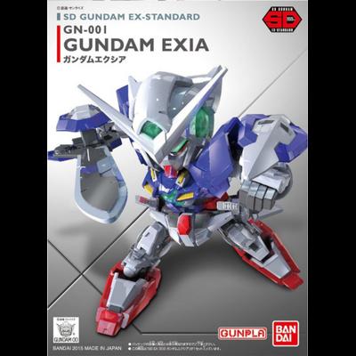 BANDAI GUNPLA SD GUNDAM EX-STD 003 GN-001 EXIA