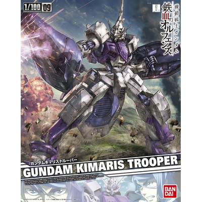 BANDAI GUNPLA RE 1/100 GUNDAM KIMARIS TROOPER