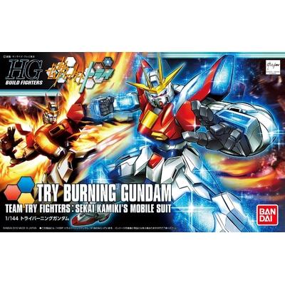 BANDAI GUNPLA HGBF 1/144 TRY BURNING GUNDAM