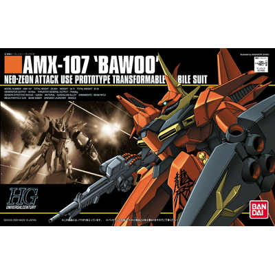 BANDAI GUNPLA 1/144 AMX-107 BAWOO GUNDAM