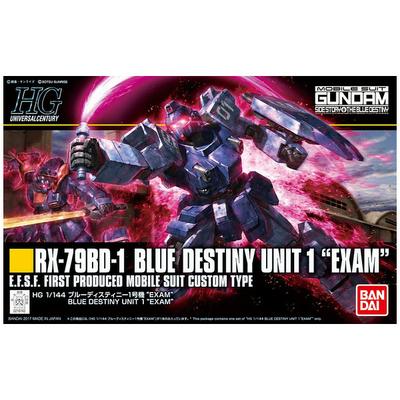 BANDAI GUNPLA HG 1/144 BLUE DESTINY UNIT1 EXAM GUNDAM
