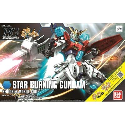 BANDAI HGBF 1/144 STAR BURNING GUNDAM