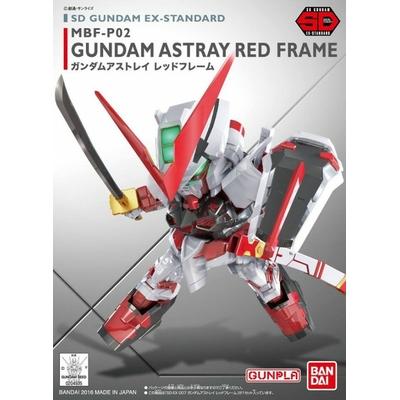BANDAI GUNPLA SD GUNDAM EX-STD 007 ASTRAY RED FRAME GUNDAM MBF-P02