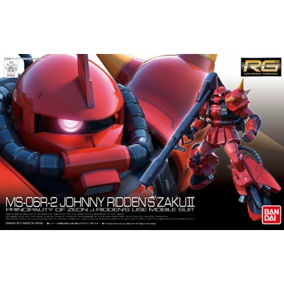 BANDAI GUNPLA RG 1/144 MS-06R-2 JOHNNY RIDDENS ZAKU