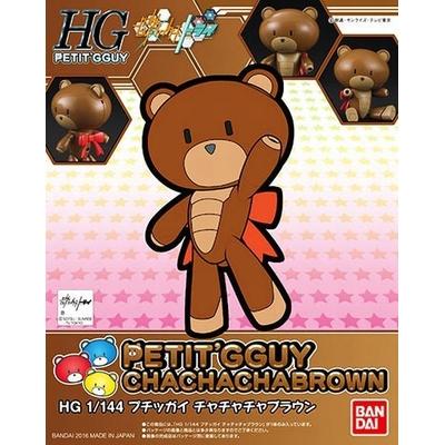 BANDAI BEARGGUY HGPG 1/144 PETIT GGUY CHA CHA CHA BROWN & CHOCOLATE