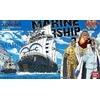 BANDAI MAQUETTE ONE PIECE MARINE WAR SHIP